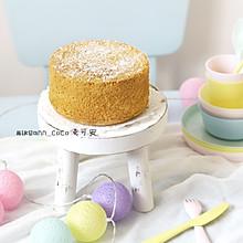 6寸加高【分蛋法】海棉蛋糕(淡奶油版)