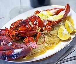 蒜蓉粉丝波士顿龙虾+#复刻中餐厅#的做法