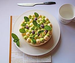 青岚抹茶蛋糕的做法