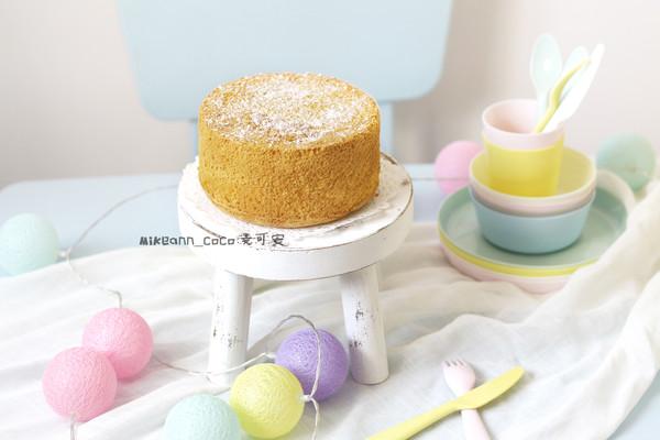 6寸加高【分蛋法】海棉蛋糕(淡奶油版)的做法