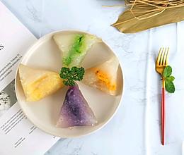 #甜粽VS咸粽,你是哪一党?#网红水晶西米粽子的做法