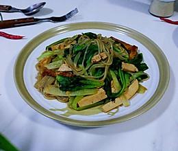 豆腐粉条塌棵菜的做法