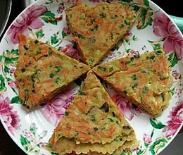 田园风蔬菜饼,宝贝爱吃的做法