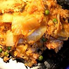 五花肉泡菜炒饭
