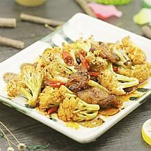 干锅花菜丨干锅界的网红【微体兔菜谱】