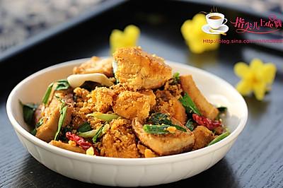 鱼籽烧豆腐