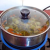 冬季暖胃,龙眼枸杞姜茶的做法图解4