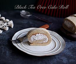 红茶奥利奥蛋糕卷的做法