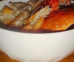 海蟹鲜虾粥的做法