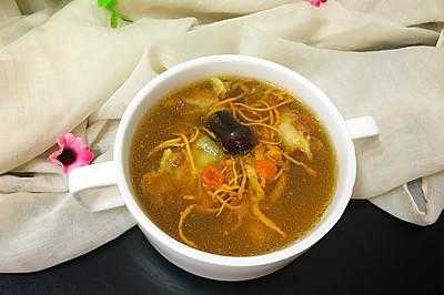 虫草花排骨汤