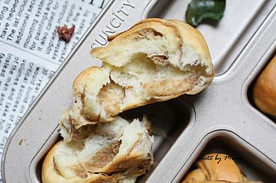 栗子泥面包卷