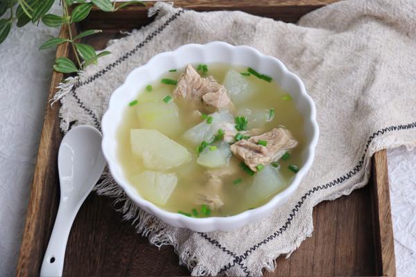 秋后进补冬瓜排骨汤的做法