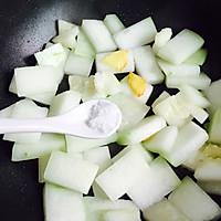 蚝油虾皮炒冬瓜#就是红烧吃不腻!#的做法图解6