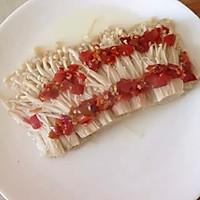 剁椒金针菇的做法图解6