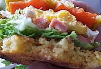 自制粗粮三明治的做法