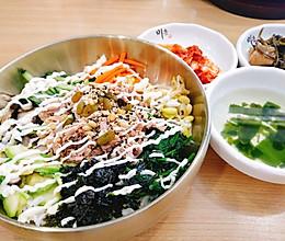 超简单的韩式拌饭来咯的做法