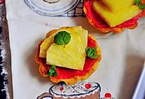 【迷你菠萝奶油树莓挞】——COUSS E5出品的做法