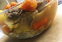 小白版胡萝卜土豆炖牛肉的做法