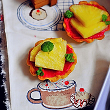 【迷你菠萝奶油树莓挞】——COUSS E5出品
