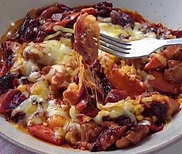 #肉食主义狂欢#感觉难但很简单的小白料理,韩国春川鸡的做法