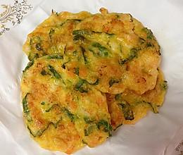 鲜虾蔬菜饼的做法