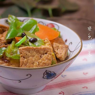 家常豆腐--餐桌上总要来点素