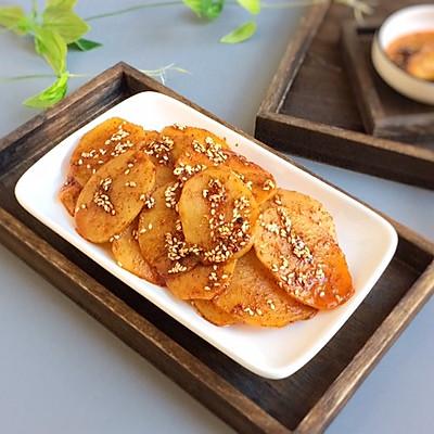 麻辣洋芋片(土豆) 附秘制辣油方子