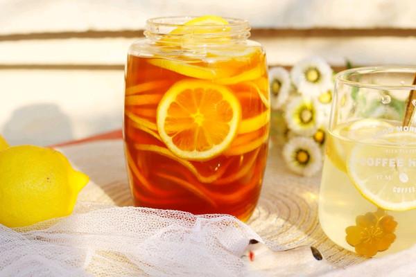 自制柠檬蜂蜜水的做法