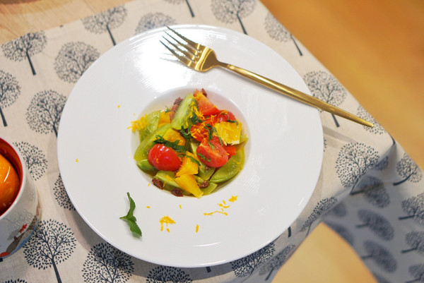 小食 |橙蜜小番茄,炎炎夏日必备简易开胃小菜的做法