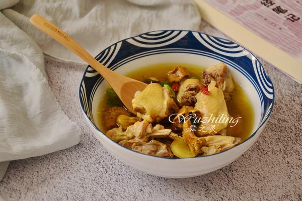 #春季减肥,边吃边瘦#姬松茸炖鸡的做法