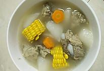 排骨萝卜玉米汤的做法