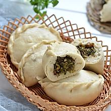 #做道懒人菜,轻松享假期# 苜蓿猪肉大蒸饺
