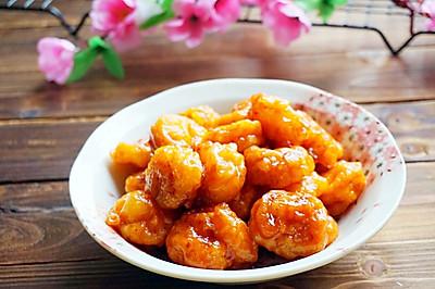 糖醋脆皮虾仁