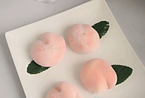 #爱乐甜夏日轻脂甜蜜#水蜜桃芒果夹心雪媚娘的做法