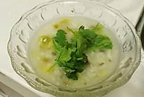 香菇皮蛋瘦肉粥的做法