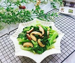 #节后清肠大作战#香菇炒油菜