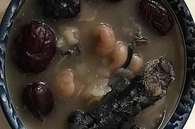 天麻紅棗烏雞湯