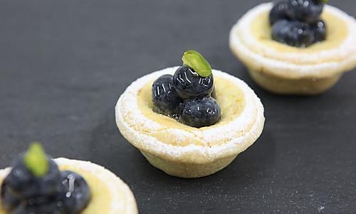 蓝莓芝士挞的做法