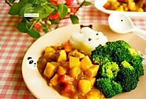 咖喱鸡饭#好侍百梦多咖喱#的做法