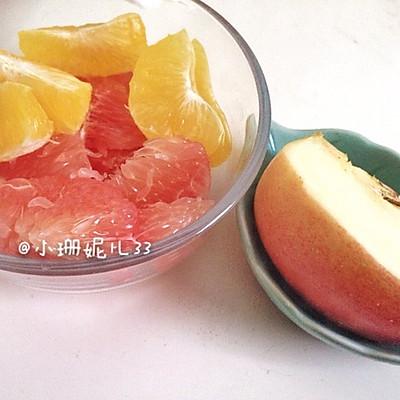蜜柚雪梨苹果汁