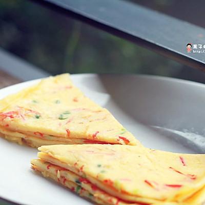 鸡蛋蔬菜煎饼