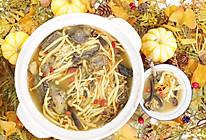 #福气年夜菜#虫草花菌菇鸡汤的做法