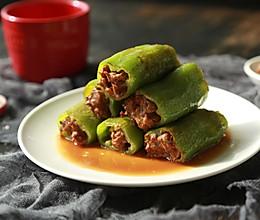 尖椒酿肉-年夜饭系列的做法