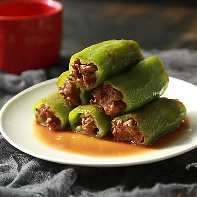 尖椒酿肉-年夜饭系列