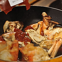【变厨神】地道新加坡风味大餐 辣椒螃蟹的做法图解10
