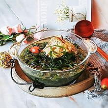 #快手又营养,我家的冬日必备菜品#海带大骨汤