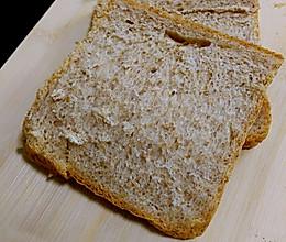 喵喵烘培日记 经典全麦吐司面包的做法