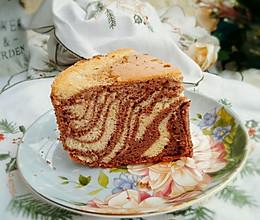 斑马纹戚风蛋糕#美的FUN烤箱.焙有FUN儿#的做法