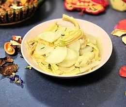 萝卜炖腐竹的做法