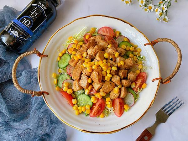 鸡胸蔬菜沙拉的做法